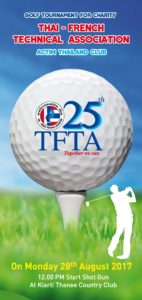 Golf, TFTA, Charity, 2017, thai, french, golf charity